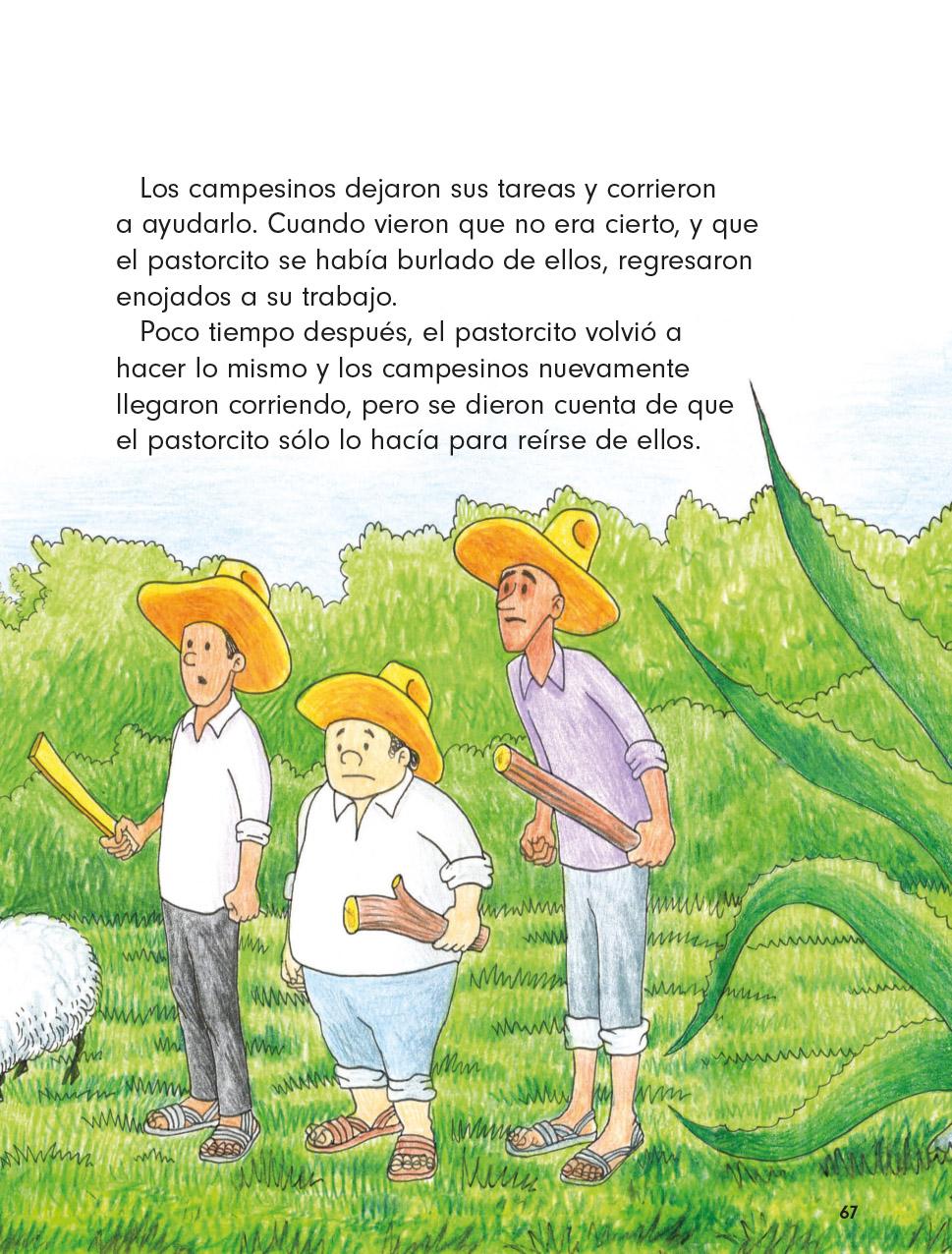 Lengua Materna Español Lecturas Primer grado 2020-2021