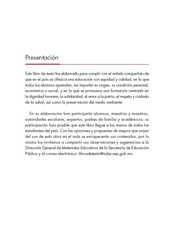 Lengua Materna Español Quinto grado página 003