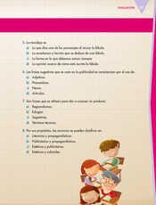 Lengua Materna Español Quinto grado página 037