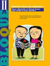Lengua Materna Español Quinto grado página 038