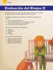 Lengua Materna Español Quinto grado página 074