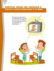 Lengua Materna Español Quinto grado página 100