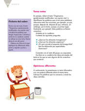 Lengua Materna Español Quinto grado página 104