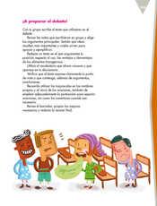 Lengua Materna Español Quinto grado página 109