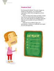 Lengua Materna Español Quinto grado página 110