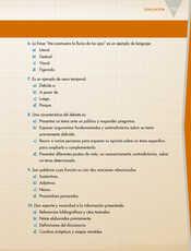 Lengua Materna Español Quinto grado página 113