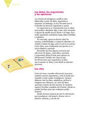 Lengua Materna Español Quinto grado página 122