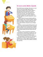 Lengua Materna Español Quinto grado página 134