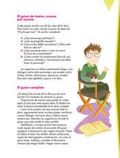 Lengua Materna Español Quinto grado página 135