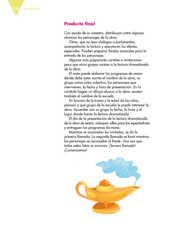 Lengua Materna Español Quinto grado página 136