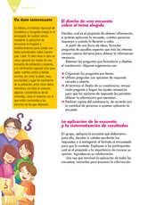 Lengua Materna Español Quinto grado página 142