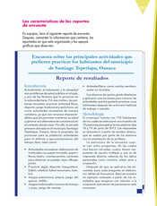 Lengua Materna Español Quinto grado página 143