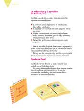 Lengua Materna Español Quinto grado página 150