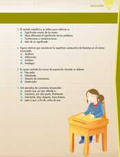 Lengua Materna Español Quinto grado página 153
