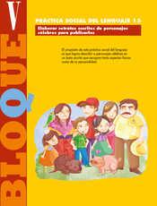 Lengua Materna Español Quinto grado página 154