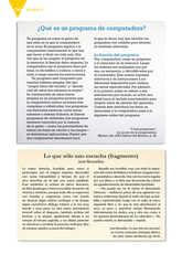 Lengua Materna Español Quinto grado página 156