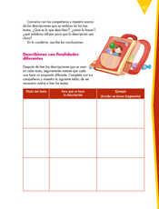 Lengua Materna Español Quinto grado página 157