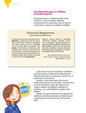 Lengua Materna Español Quinto grado página 158