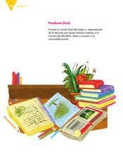 Lengua Materna Español Quinto grado página 168