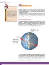 Geografía Quinto grado página 018