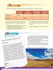 Geografía Quinto grado página 020
