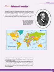 Geografía Quinto grado página 033