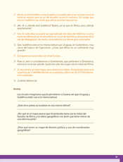 Geografía Quinto grado página 035