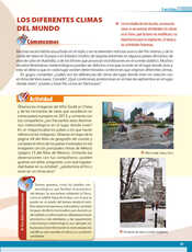 Geografía Quinto grado página 055