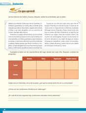 Geografía Quinto grado página 068