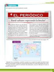 Geografía Quinto grado página 085