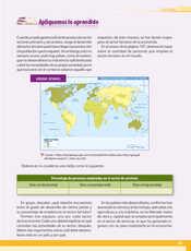 Geografía Quinto grado página 135