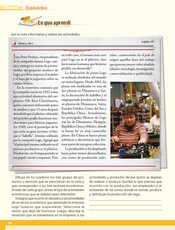 Geografía Quinto grado página 142