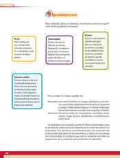 Geografía Quinto grado página 166