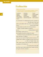 Historia Quinto grado página 040