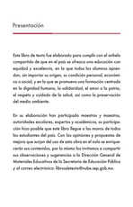 Lengua Materna Español Lecturas Quinto grado página 003