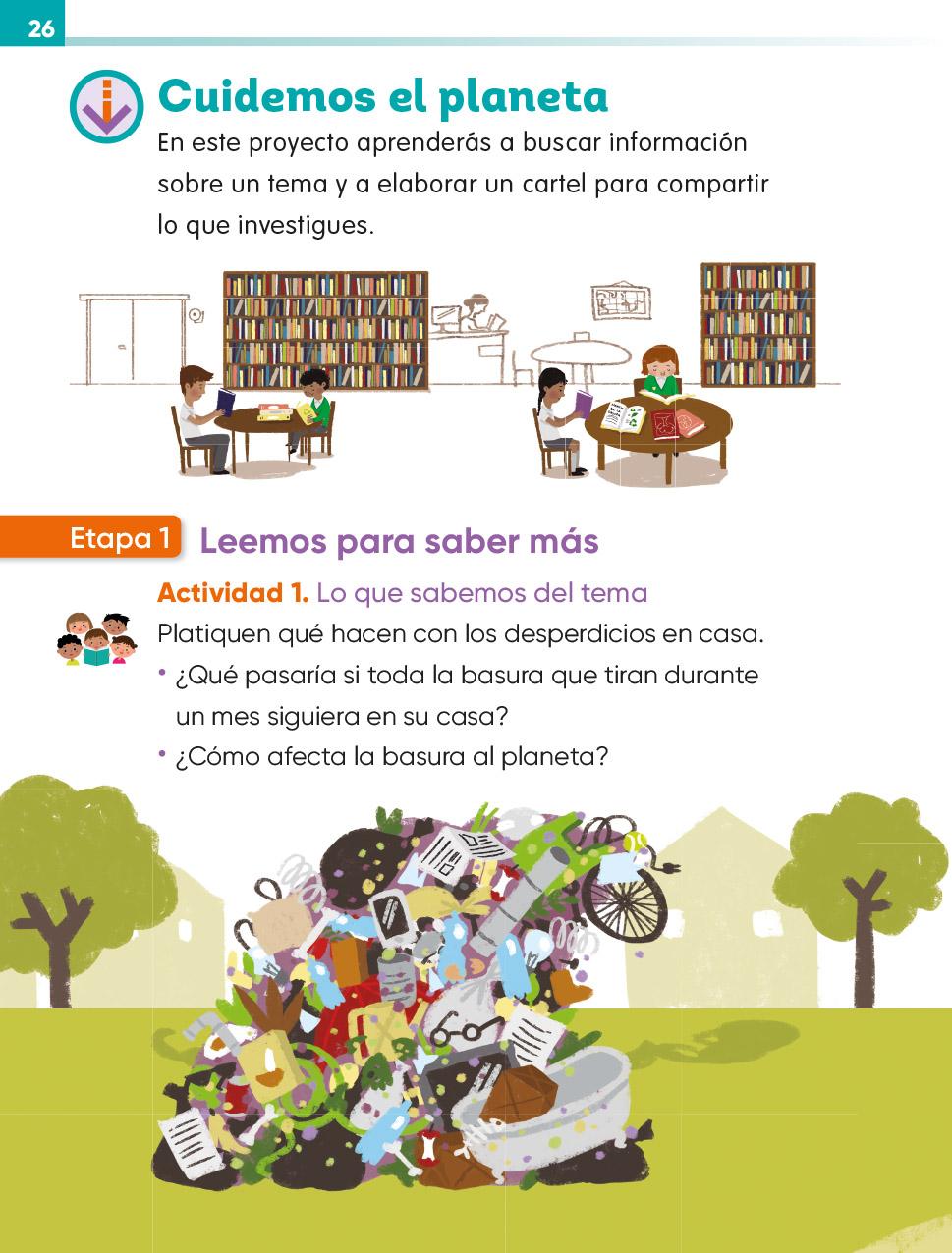 Lengua Materna Español Segundo grado 2020-2021 - Página 26 ...