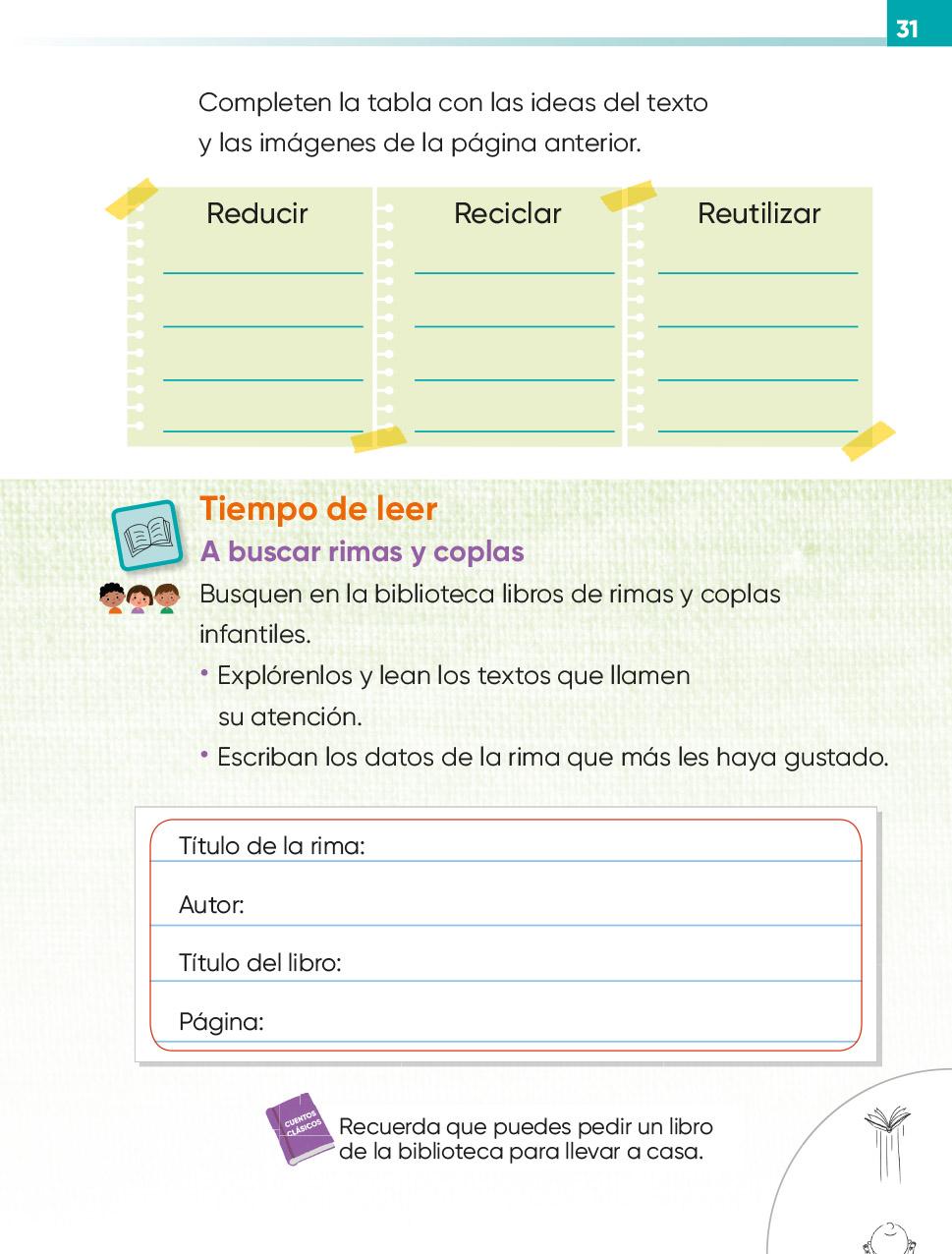 Lengua Materna Español Segundo grado 2020-2021 - Página 31 ...