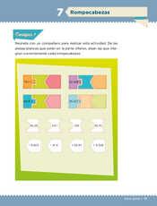 Desafíos Matemáticos Sexto grado página 017