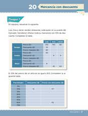Desafíos Matemáticos Sexto grado página 037