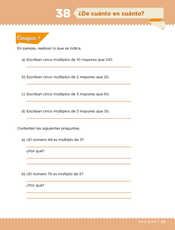 Desafíos Matemáticos Sexto grado página 079