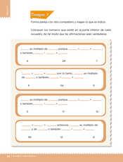 Desafíos Matemáticos Sexto grado página 082