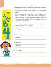 Desafíos Matemáticos Sexto grado página 086