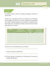 Desafíos Matemáticos Sexto grado página 125