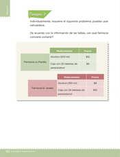 Desafíos Matemáticos Sexto grado página 132