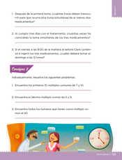 Desafíos Matemáticos Sexto grado página 135