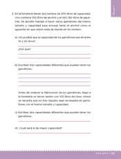 Desafíos Matemáticos Sexto grado página 137