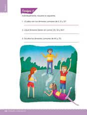 Desafíos Matemáticos Sexto grado página 138