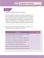 Desafíos Matemáticos Sexto grado página 139
