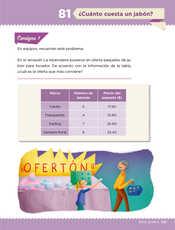 Desafíos Matemáticos Sexto grado página 147