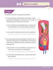 Desafíos Matemáticos Sexto grado página 151